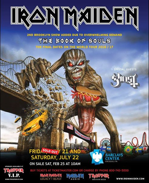 IRON MAIDEN - Page 11 NYC