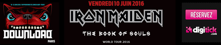 Iron Maiden - Download Festival, Paris - 10/06/2016