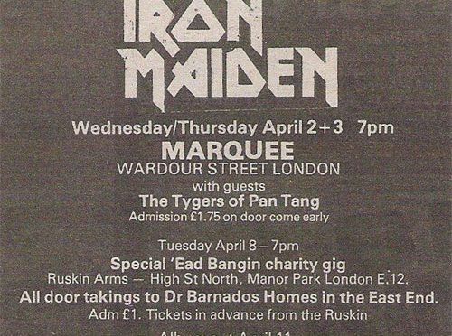 Marquee Club – Londres