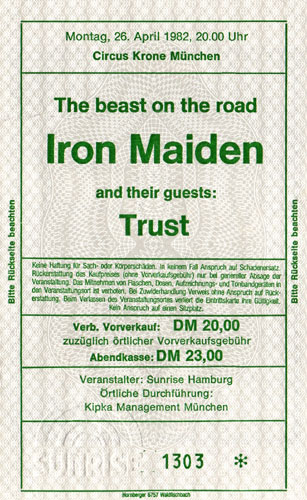 The Beast On The Road 1982