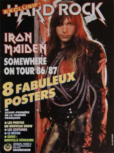 Hard Rock Poster N°12 – Dec 1986 / Janv 1987