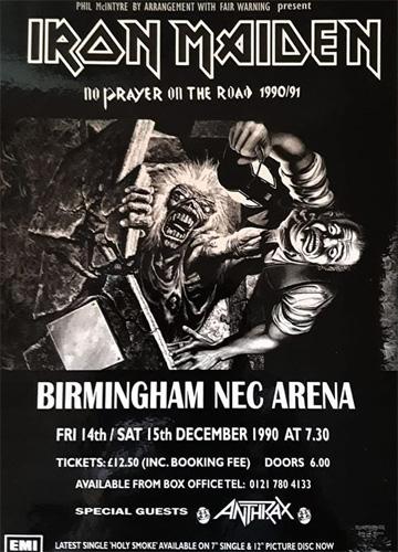 No Prayer On The Road 1990/1991