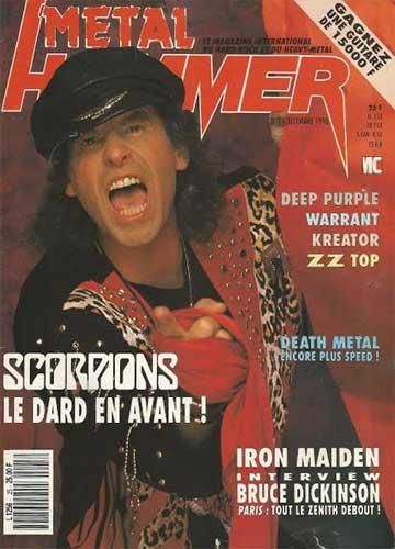 Metal Hammer N°25 - Décembre 1990