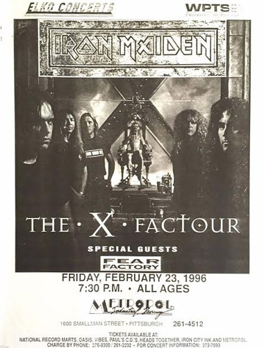 The X Factour 1995 / 1996
