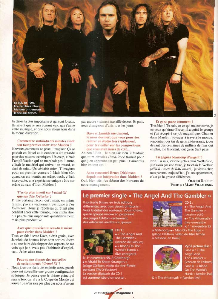 Hard Rock Magazine NS N°33 – Avril 1998