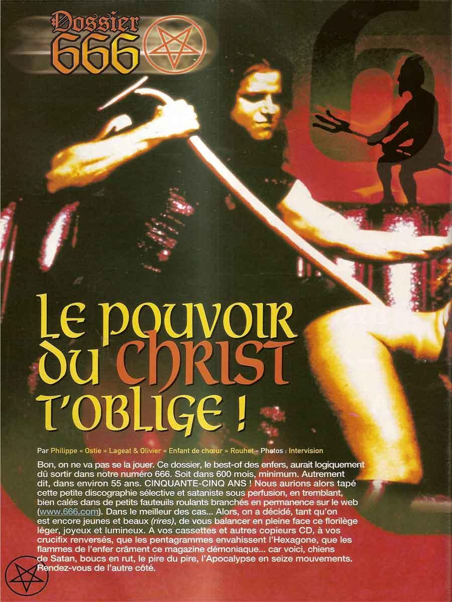 Hard Rock Magazine NS N°66 - Mars 2001