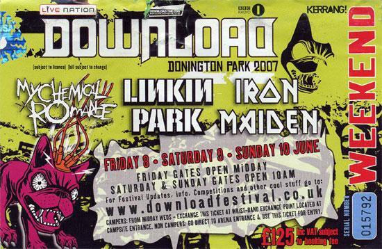 A Matter Of The Beast Summer Tour 07