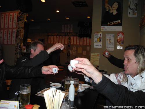 Un toast pour le Japon