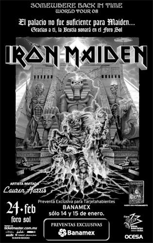 Iron Maiden - Mexico City - 02/24/08
