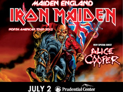 Maiden England Tour 2012