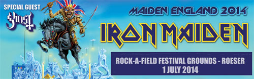 Iron Maiden - Luxembourg - 14/07/01