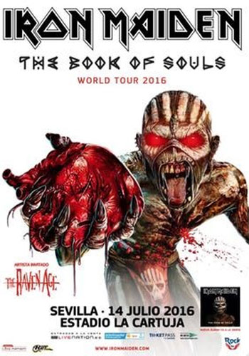 The Book Of Souls World Tour 2016