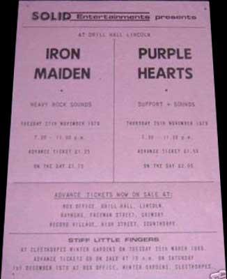 11/27/79 - Iron Maiden
