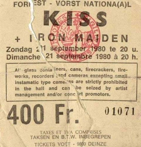 09/21/80 - Iron Maiden - Belgium