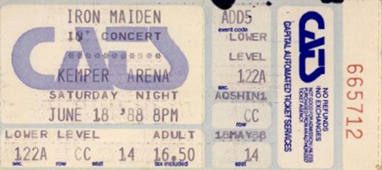 Seventh Tour of a Seventh Tour 1988