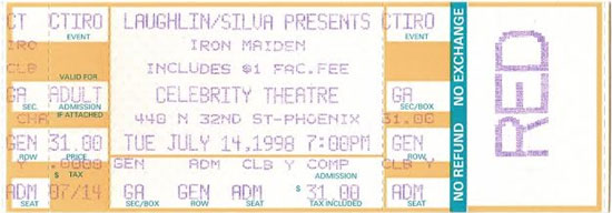 Virtual XI World Tour 1998