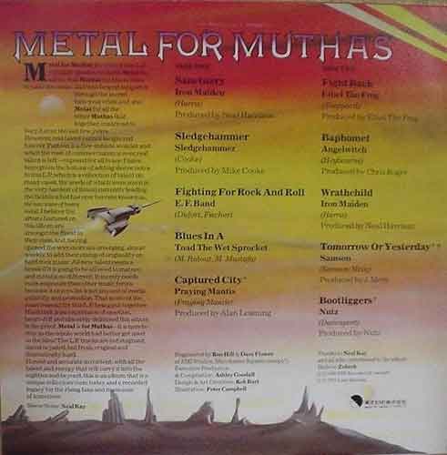 Album Metal For Muthas