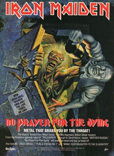 No Prayer For The Dying Promo