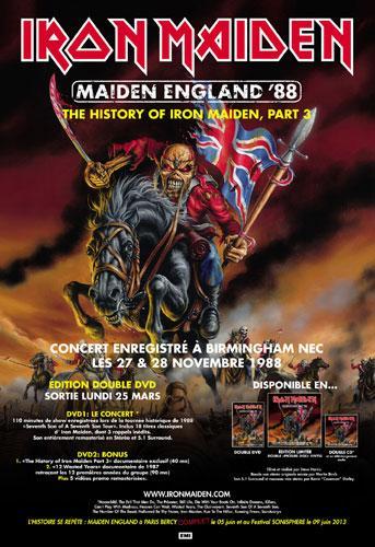 Maiden England '88 DVD