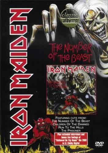 The Number Of The Beast (DVD)