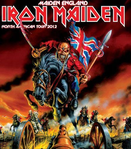 Maiden England Tour US