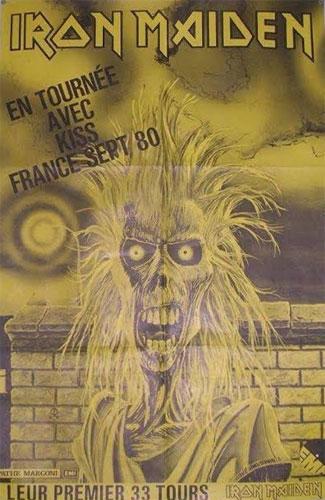Iron Maiden France 1980 Advert