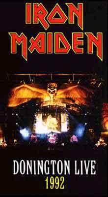 Donington Live 1992 VHS