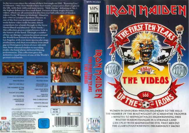 The First Ten Years VHS