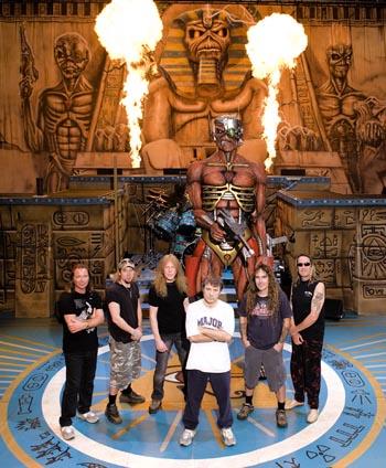 Iron Maiden SBIT tour