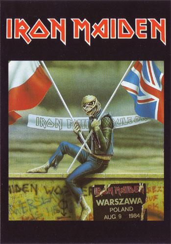 Warszawa Aug 9 1984 (Ref. 1018)