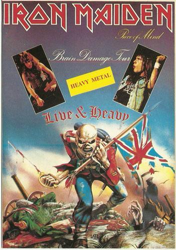 Brain Damage Tour '83 (Ref. 1025)