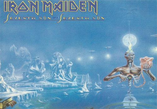 Seventh Son Of A Seventh Son (Ref. D Tag 1033 - EEC)