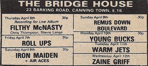The Bridgehouse P.H., Canning Town – Londres