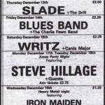 London – Music Machine, Camden Town - 1979/12/19