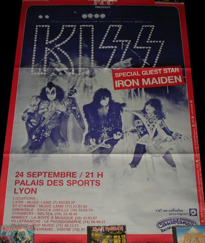 Iron Maiden World Tour 1980