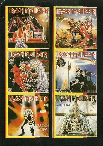Iron Maiden Singles (Ref. 805)