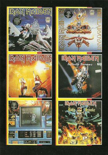 Iron Maiden Singles (Ref. 806)