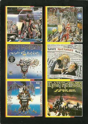 Iron Maiden Singles (Ref. 807)