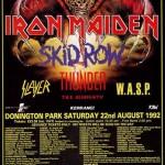 Fear Of The Dark World Tour 1992