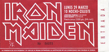 A Real Live Tour 1993 - Spain