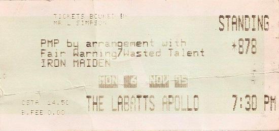 The X Factour 1995/1996