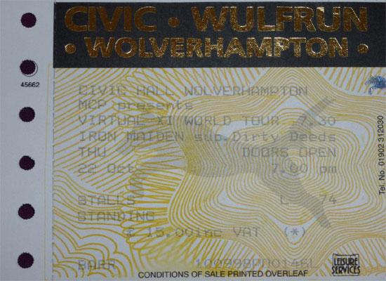 Virtual XI Tour 1998