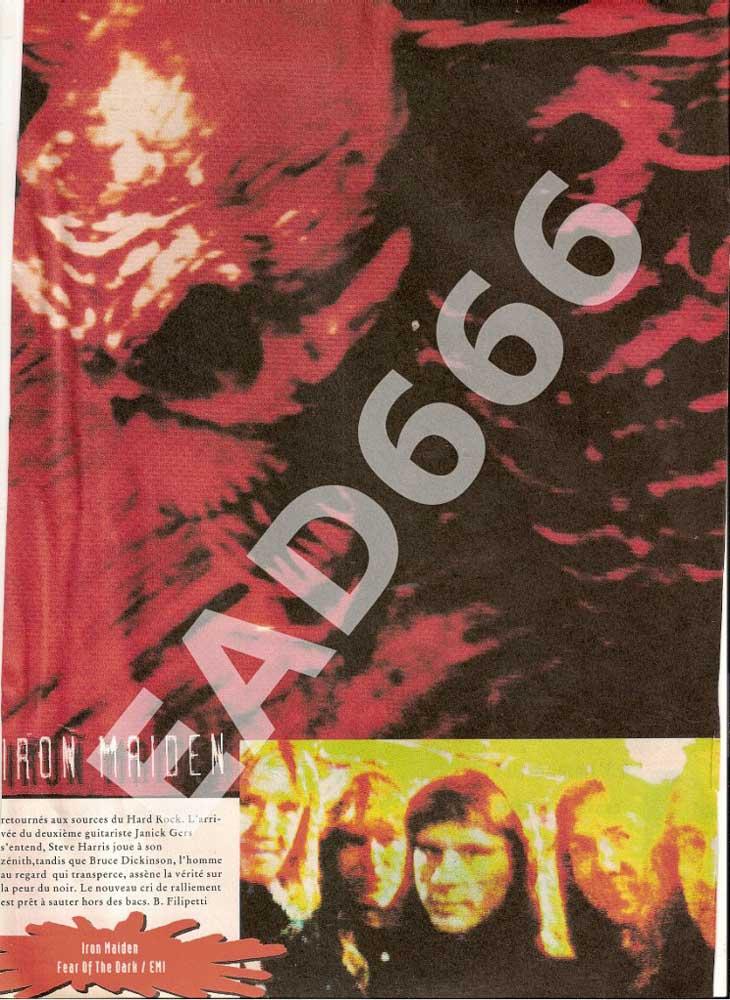 Blah Blah News N°40 - Mai 1992