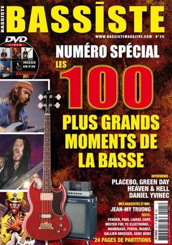 Bassiste Magazine N°25 - Juillet / Août 2009
