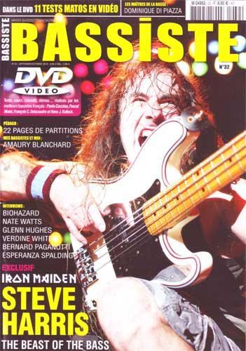 Bassiste Magazine N°32 - Septembre / Octobre 2010