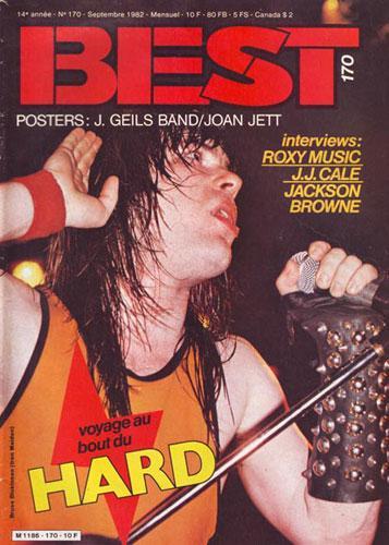 Best n°170 - Sept 1982