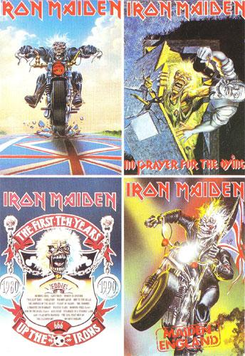 Iron Maiden Postcards (Ref. C-569)