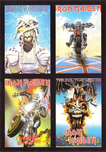 Iron Maiden Postcards (Ref. C-79)