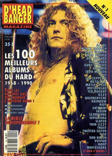 D'head Banger N°1 - Mai 1990