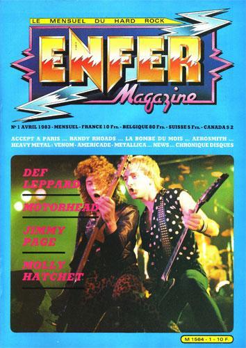 Enfer Magazine N°1 - Avril 1983